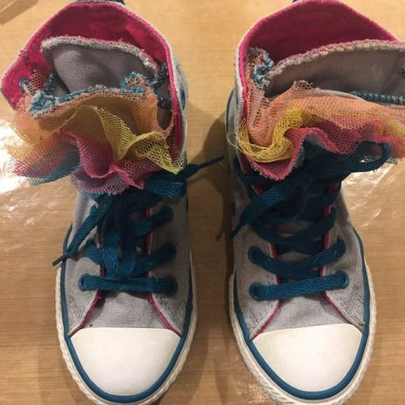 Converse Shoes | Frilly | Poshmark
